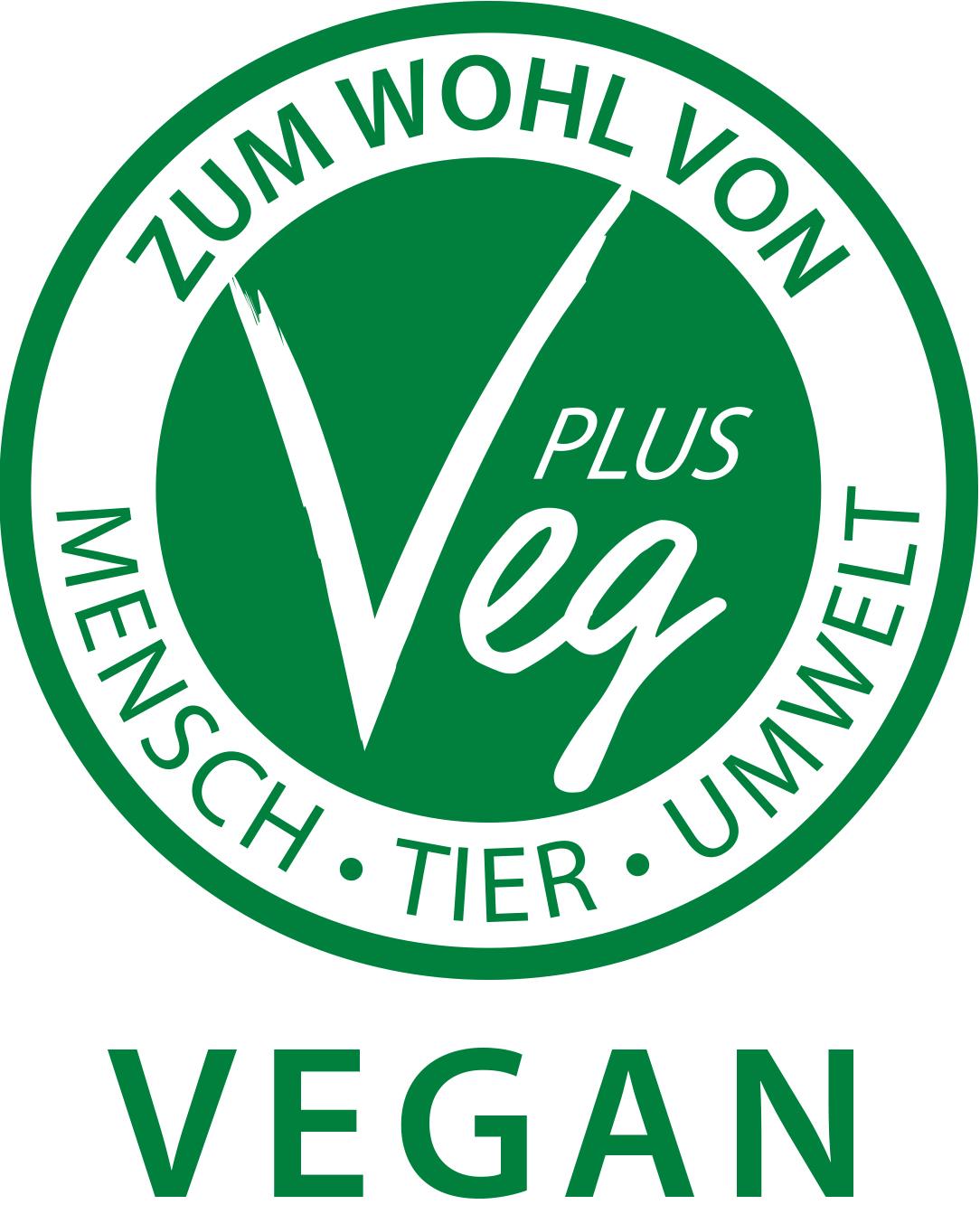 VegPlus Logo Vegan